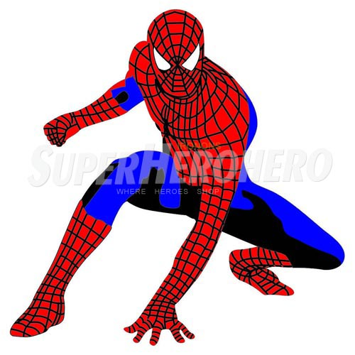 Designs Spiderman Iron on Transfers (Wall & Car Stickers) No.4612